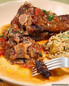 Barbecued Oxtail
