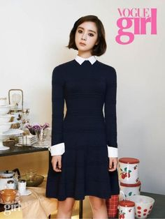 Wonder Girls Hyerim for VOGUE girl Magazine October Issue