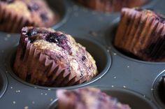 Black Raspberry Muffins- Joy the Baker Köstliche Desserts, Delicious Desserts, Dessert Recipes, Yummy Food, Baker Recipes, Paleo Food, Yummy Recipes, Black Raspberry Recipes, Blackberry Recipes