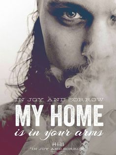 In world so hollow, it is breaking my heart Ville Valo, Poster Pictures, Him Band, My Heart Is Breaking, Handsome, People, Sweet, Quotes, Bands