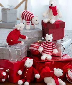 Precious Polar Bear DIY Ornaments | Squeeee! These DIY ornaments are the cutest.