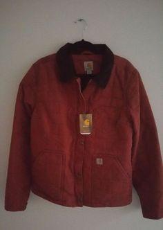 Carhartt Womens Jacket Size L (12-14) Cinnamon New Hope Warm Work  #Carhartt #BasicJacket