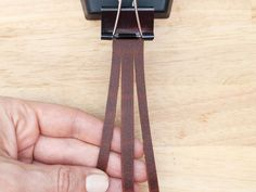 Leather is a great material for braiding and weaving. It is soft and pliable and can be cut into different numbers of strands easily using the same techniques that I...