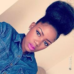 30 Easy But Beautiful Natural Hair Protective Styles [Gallery] Texturizer On Natural Hair, Natural Hair Tips, Natural Hair Styles, Natural Dreads, Au Natural, Natural Makeup, Natural Beauty, Protective Styles, Protective Hairstyles