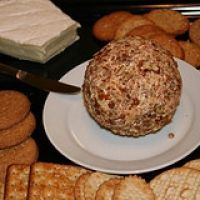 Greatest Cheeseball Ever - This is a cheeseball recipe that my Aunt taught me way back in the 70's! It's easy, inexpensive, and people always RAVE over it. Wrapped tightly, it lasts in the fridge for up to 3 weeks! Hope you like it, enjoy!