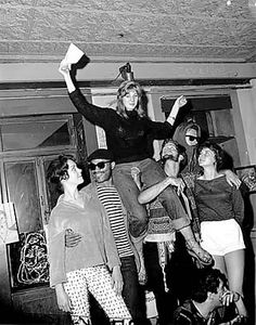 Terry Danielson, winner of 1959's Universal Miss Beatnik Contest in New York City  (from New York Journal-American, Harry Ransom Humanities Research Center, The University of Texas at Austin)