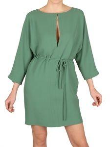 Valentino Silk Cady Dress