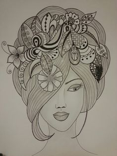 Drawings pencil sketches of faces, abstract pencil drawings, art sketches, Doodle Art Drawing, Zentangle Drawings, Mandala Drawing, Mandala Art, Painting & Drawing, Zentangles, Abstract Pencil Drawings, Dark Art Drawings, Art Drawings Sketches