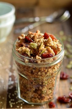 Seed Demon Quinoa Flake Granola - 7 seeds in 1 granola!