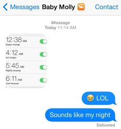 The Troll: | 15 Texts Babies Wish They Could Send