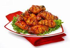 Ailes de poulet BBQ Chicken Legs, Bbq Chicken, Tandoori Chicken, Mets, Junk Food, Finger Foods, Poultry, Barbecue, Food Porn
