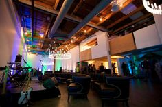 Pre-event calm before the beautiful chaos #CanvasEventSpace #CanvasSODO   Gorgeous shots by Fischer Wallace Swae-Photography at the Sounders FC @ Centurylink Field / Clint Dempsey Event — with Sounders FC @ Centurylink Field at Canvas Event Space.