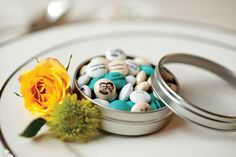 Ways to carry your palette throughout your wedding