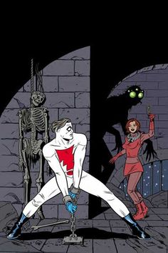 Madman Super-Groovy King-Size Special, by Mike Allred, Comic Book Pages, Comic Book Artists, Comic Book Covers, Comic Book Characters, Comic Artist, Comic Books Art, Dc Comics Superheroes, Bd Comics, Mike Allred
