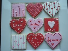 valentines - like the stripe with hearts design.