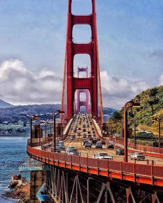USA Road Trip Ideas and Tips. If you are looking to head out on a road trip, there are a lot of different places you could go. Below, we will be going over some of the top USA road trip San Francisco California, Scenic Photography, Free Travel, Travel Tips, Road Trip Usa, California Travel, California Living, Vacation Destinations, Golden Gate Bridge