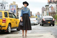 New York Fashion Week day 4: Camicia di Jeans Vintage