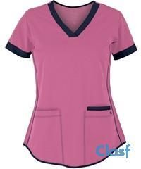 Contrast bands & piping give the Barco NrG 3159 3 Pocket Scrub Top a great sporty look. For a variety of Barco scrubs and Stretch scrubs, shop at UA. Scrubs Outfit, Scrubs Uniform, Hair Contouring, Suit Pattern, Womens Scrubs, Hot Hair Styles, Medical Scrubs, Sporty Look, Scrub Tops