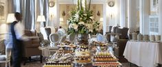 High Tea at The Mount Nelson is a must!