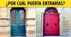 Test: Elige una puerta ytediremos cuál estuverdadera personalidad