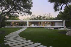 The Glass Pavillion by Steve Hermann Design