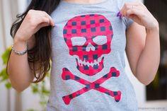 Camiseta de Caveira