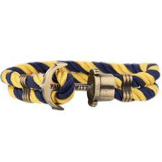 PAUL HEWITT PHREP Anker Armband Marineblau-Gelb - PAUL HEWITT - Shop