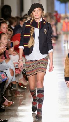 Ralph Lauren fall 2014 kids fashion show in New York
