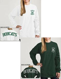 Product: Ohio University Women's Football Long Sleeve T-Shirt
