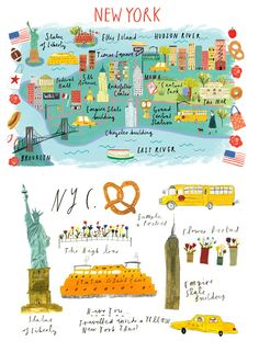 *NEW* Maps & Travel - Clair Rossiter illustration                                                                                                                                                                                 More