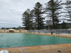 Thirroul Olympic Pool - salt water pumped in fresh from the ocean every day. Shame it closes in winter