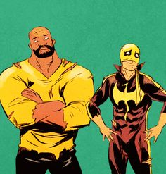 The Heroes for Hire in Power Man and Iron Fist #4