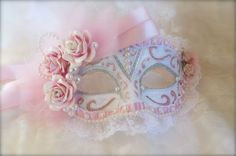 Shabby Chic Mask - Scrapbook.com