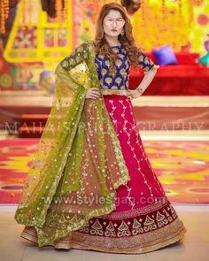 Tips For Planning The Perfect Wedding Day – Cool Bride Dress Pakistani Mehndi Dress, Pakistani Fashion Party Wear, Bridal Mehndi Dresses, Bridal Dress Design, Wedding Dresses For Girls, Pakistani Wedding Dresses, Pakistani Dress Design, Party Wear Dresses, Pakistani Outfits