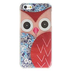 Cover iPhone 5/5S Gufo Colorato 2 - Rigida