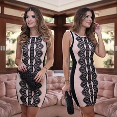 Nova coleção @nini__store Rosa com renda preta! #blogtrendalert #Nini
