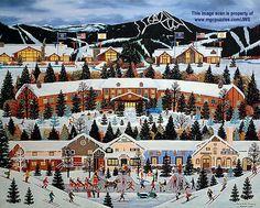 Alpine Winter Grandeur - Jane Wooster Scott