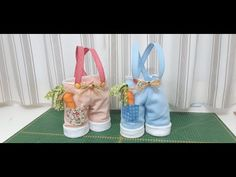 Passo a Passo Sacolinha de Pascoa - YouTube Easter Dyi, Easter Crafts, Happy Easter, Cute Crafts, Felt Crafts, Diy And Crafts, Easter Projects, Projects To Try, Spring Crafts