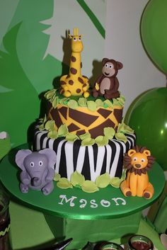 Little Big Company: Jungle Party by Sweet Affairs Event Design