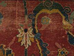 Carpet fragment, 16th/17th century, Iran