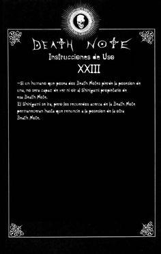 Reglas de uso de Death note Capítulo 0 página 24 - Leer Manga en Español gratis en NineManga.com