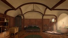 hobbithouses:    MysterMism    bilbo's bedroom     (klick to enlarge)