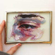 painting on glass // artwork art artists aesthetics