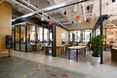 An 'Ever-Changing' Co-Working Space Designed For Maximum Flexibility - DesignTAXI.com