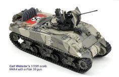 Sherman M4A4 Hull with Flak 38 Self Propelled Anti-Aircraft Gun (Germany)