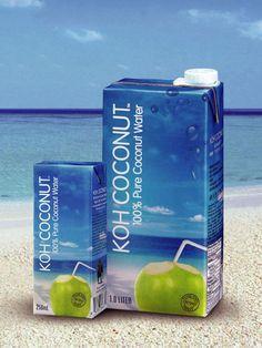 KOH Coconut, prodotta esclusivamente con il 100% di pura acqua di cocco fresco, è una bevanda deliziosa, rinfrescante e tutta naturale. Scoprila su www.drinkdifferent.it/acqua_di_cocco.php