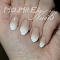 Faded French by MoMaEl - Nail Art