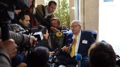 Paca: dernière séance au conseil régional pour Jean-Marie Le Pen