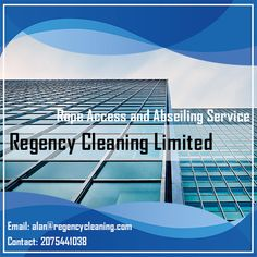 Abseiling Services in London can be effectively put in to practice for a multitude of jobs. Regency Cleaning we provide cleaning services for commercial properties. We also provide gutter clearing, glass polishing & scratch removal services. You can also contact us for maintenance & repair using rope access/abseiling.