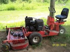 Gravely 60 inch commercial mower from 70's